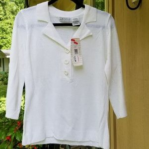 NWT White Stag top